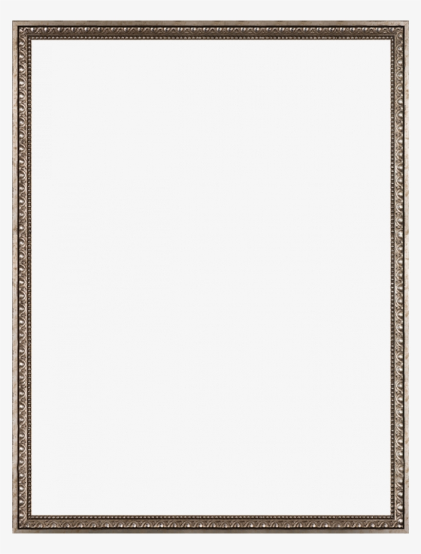 Versailles Silver Frame - World Map With Versailles Silver Frame 20' X 24', transparent png #1020705