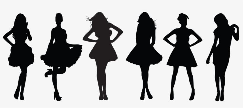 Lbd Sillouette Transparent Background Cropped - Little Black Dress Contest, transparent png #1020955