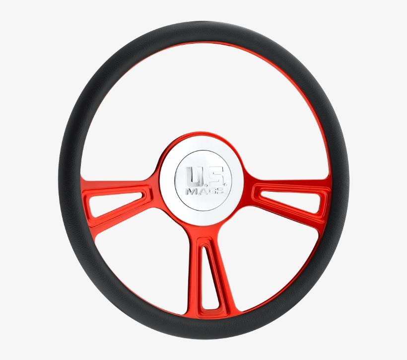 Us Mags Steering Wheels - Wheel, transparent png #1024353