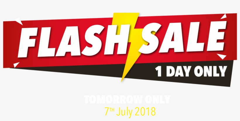 Flash Sale 7th July - 1 Day Flash Sale, transparent png #1025114