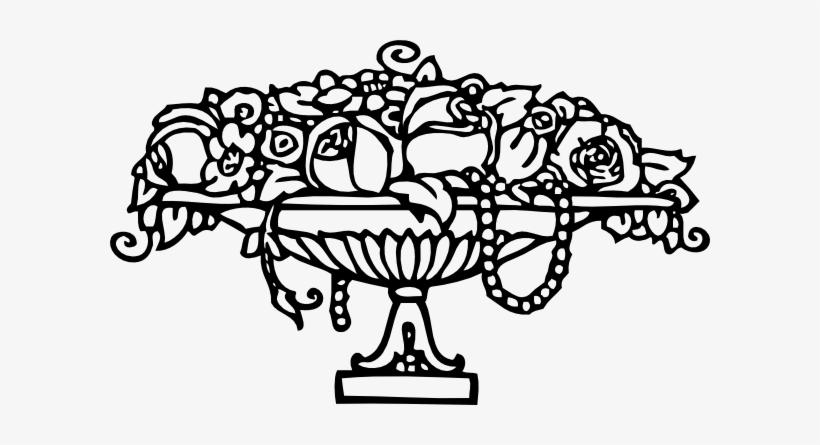 Free Vector Roses Ornament Clip Art Ausmalbilder Rosen Free