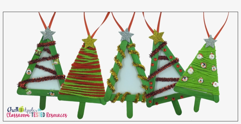 Let - Lolly Stick Christmas Tree Decorations, transparent png #1026548