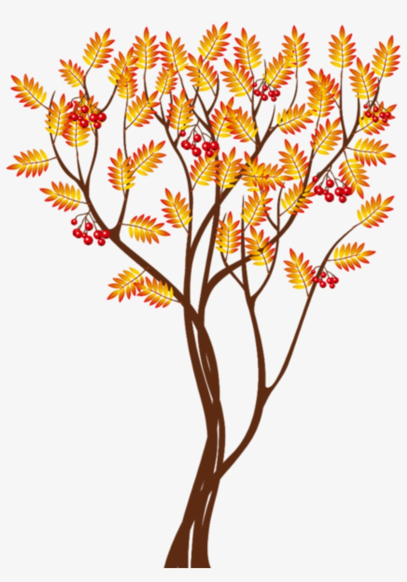 Transparent Autumn Tree Png Clipart Image Fall Tree Clipart Png