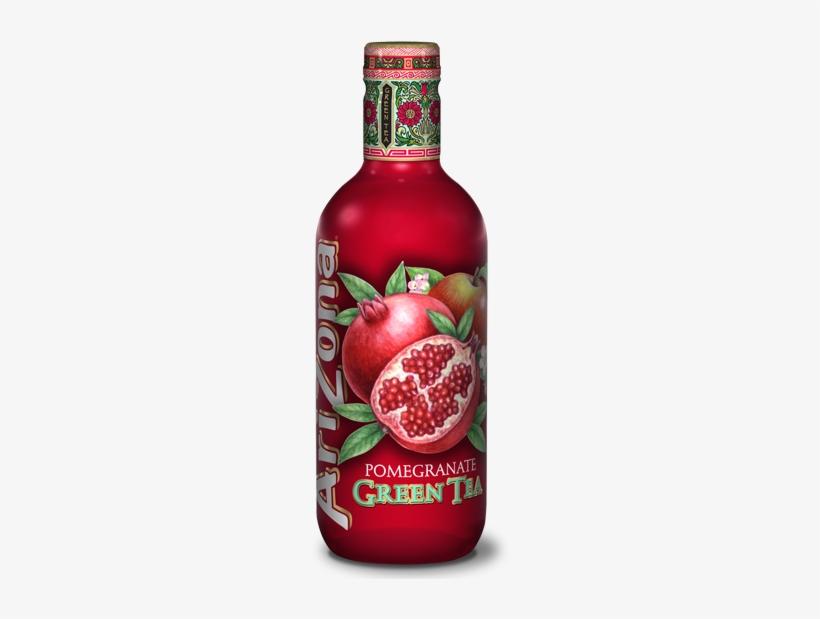 Arizona's Fruitiest Variant Combines The Natural Antioxidant - Arizona Pomegranate Green Tea, transparent png #1030140