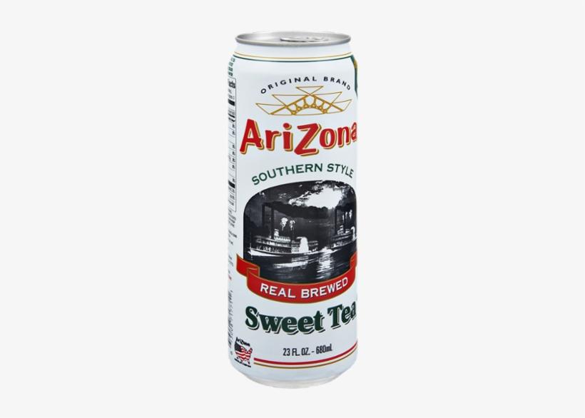 Arizona Southern Style Sweet Tea - 23 Fl Oz Can, transparent png #1030206