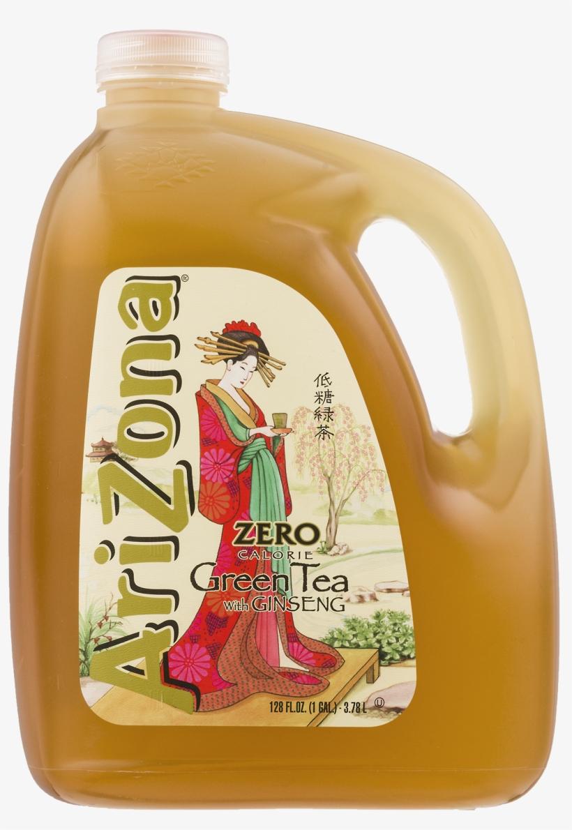 Arizona Zero Green Tea, transparent png #1030248