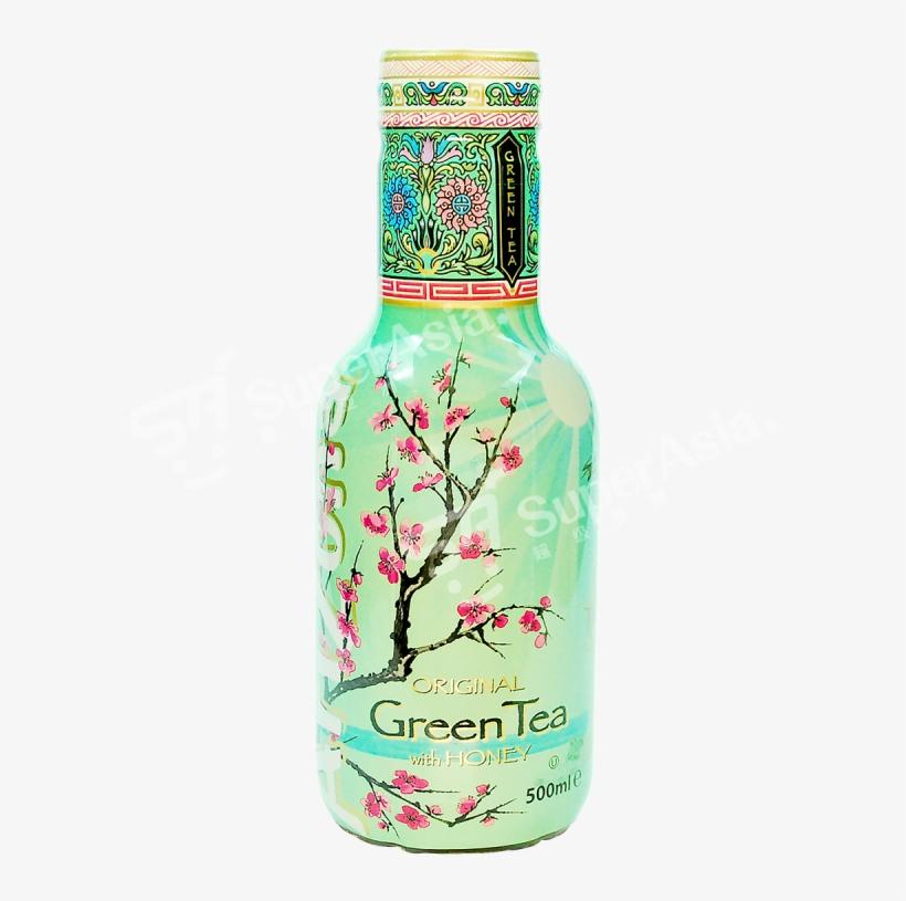 Arizona Green Tea With Ginseng & Honey, transparent png #1030319