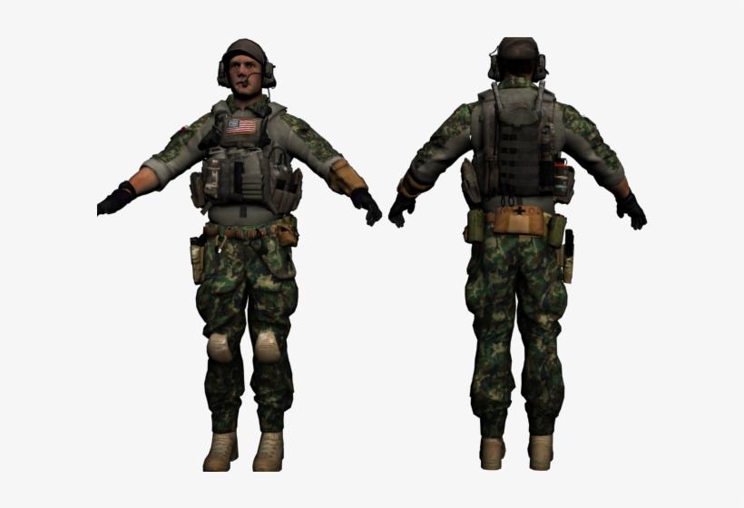 Battlefield 4 Engineer Model, transparent png #1030361