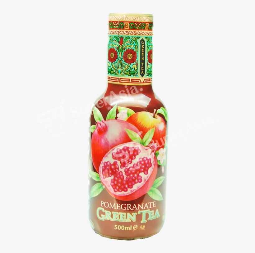 Arizona Pomegranate Green Tea (500ml), transparent png #1030405