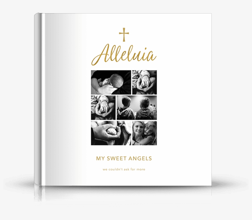 Alt1 Alleluia Square Hard Cover Photo Book - Photography Book Cover Design, transparent png #1031331