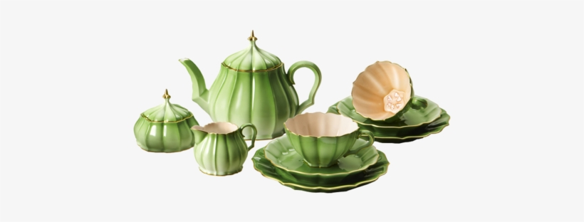Tea Set - Tea Sets Png, transparent png #1032491