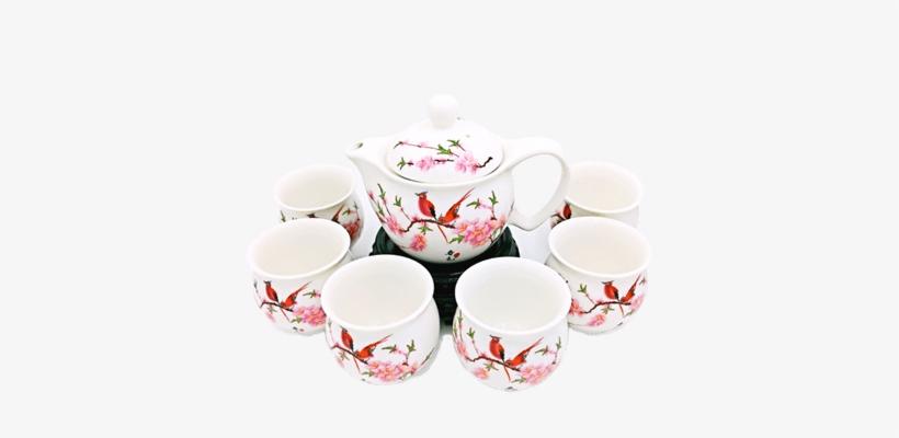 Porcelain Tea Set - Tea, transparent png #1032497