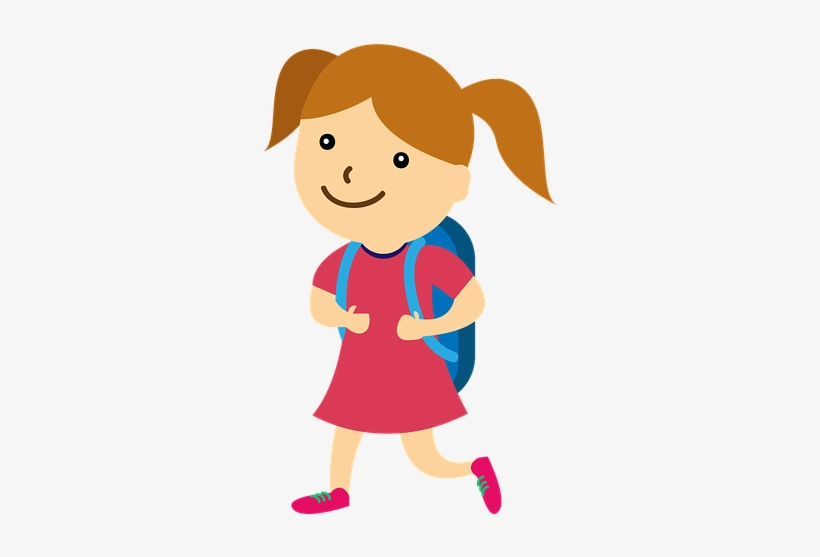 School, Girl, Back To School, Child, Study, Young - School Kids, transparent png #1032635