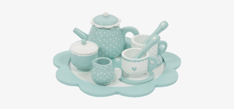 4366 - - Little Dutch Wooden Tea Set, transparent png #1032961