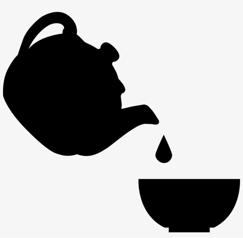 Tea Set - - Drawing, transparent png #1033185