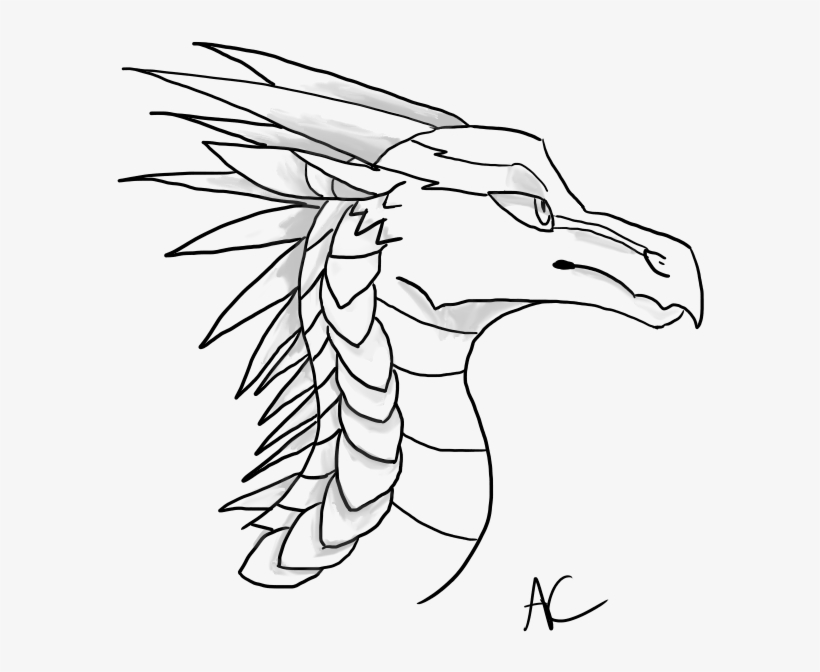 Icewing Headshot Base Wings Of Fire Icewing Base Free