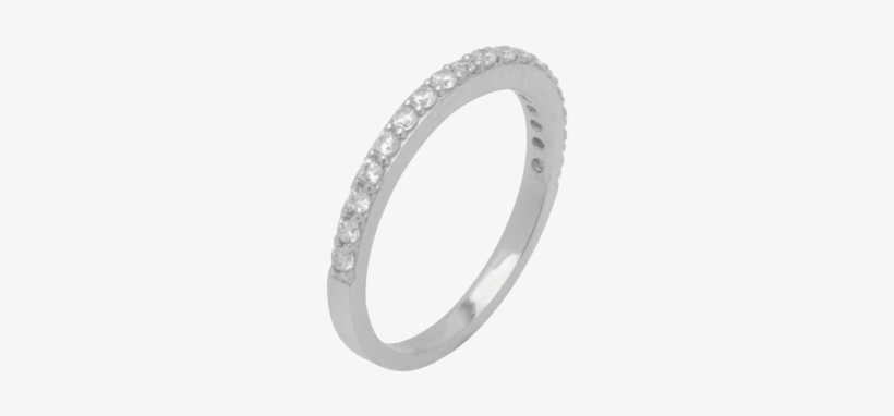 14k White Gold Ring For Engagement Diamond Stones 18 - Ring, transparent png #1034042
