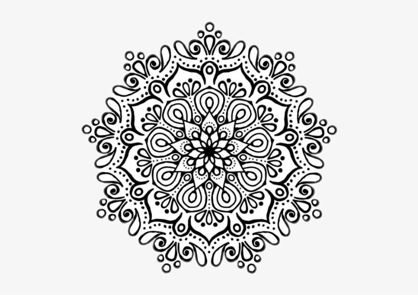 Mandala - Mandalas Para Colorear Grandes, transparent png #1035356