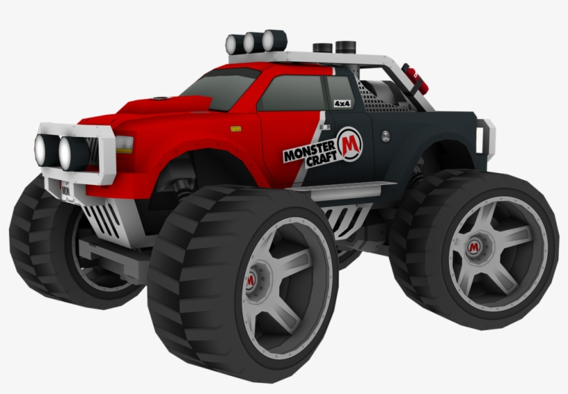 Cole Vance For Computer - Monster Truck Papercraft Template, transparent png #1035384