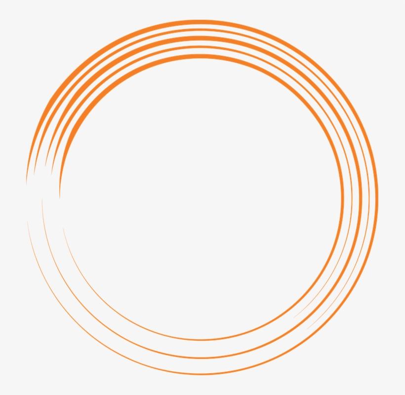 Free Image On Pixabay - White Background Orange Circle