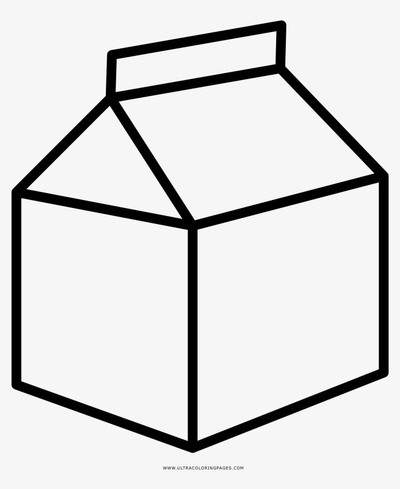 milk carton coloring pages - photo#17