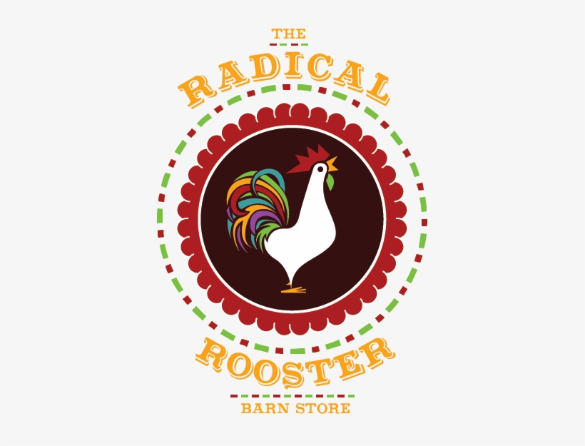 Radical Rooster - Santa Please Stop Here Box Wall Art, Multicolor, transparent png #1039017