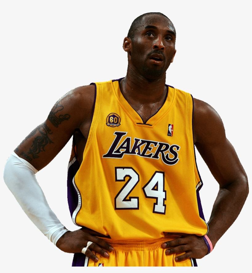 Kobe Bryant Looking Up - Kobe Bryant With No Background, transparent png #1040234