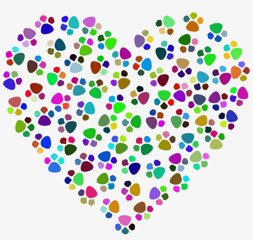 Picture Free Stock Prismatic Prints Big Image Png Transparent Background Paw Heart Clip Art Free Transparent Png Download Pngkey Rainbow brush paw print , png download, transparent png is a hd free transparent png image, which is classified into rainbow dash png,brush effect png,paw png. transparent background paw heart clip