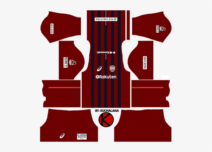 Vissel Kobe ヴィッセル神戸 Kits - Kit Italy Dream League Soccer 2018, transparent png #1040371