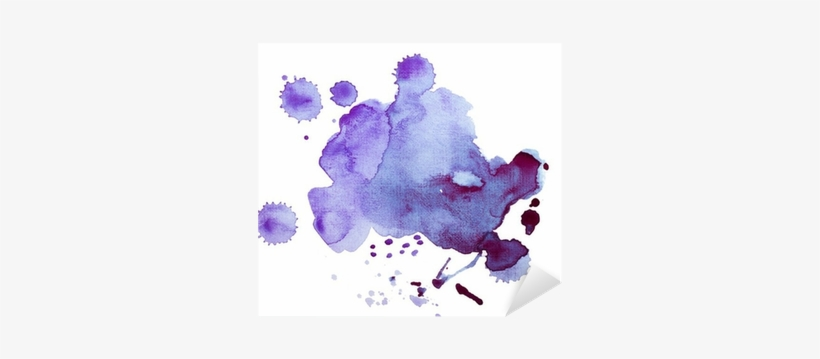 Colorful Retro Vintage Abstract Watercolour / Aquarelle - Watercolor Painting, transparent png #1041184