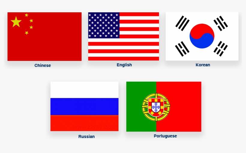 Neoden's Multilingual Support Feature Allows You To - American Flag, transparent png #1044949