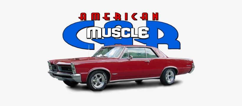 American Muscle Car Tv Show Image With Logo And Character - American Muscle Car, transparent png #1046628