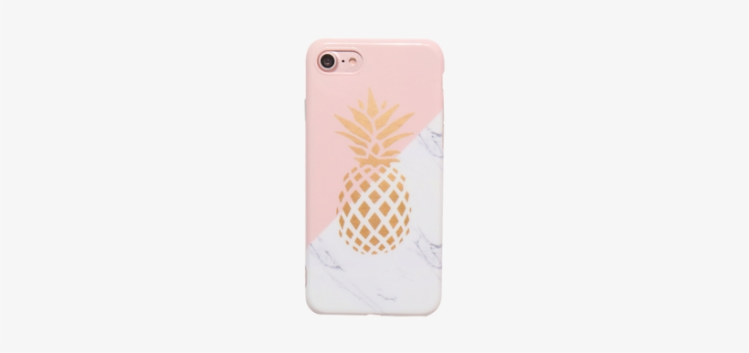 Shiny Pineapple Marble Tpu Phone Case For Iphone 7 - Marble Phone Cases For Iphone 7, transparent png #1046878