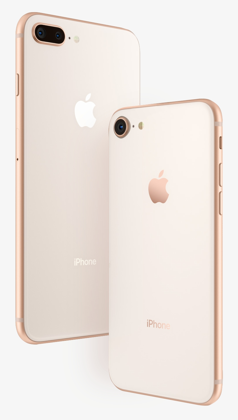 Iphone 8 8plus Side By Side Iphone 8 Plus Price In Qatar Free Transparent Png Download Pngkey