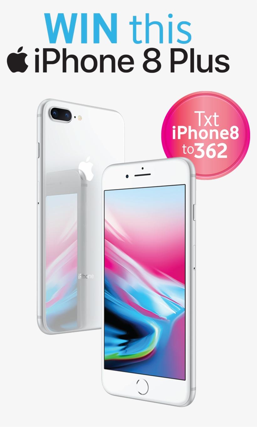 Iphone8 Text Win - Win An Iphone 8, transparent png #1047076