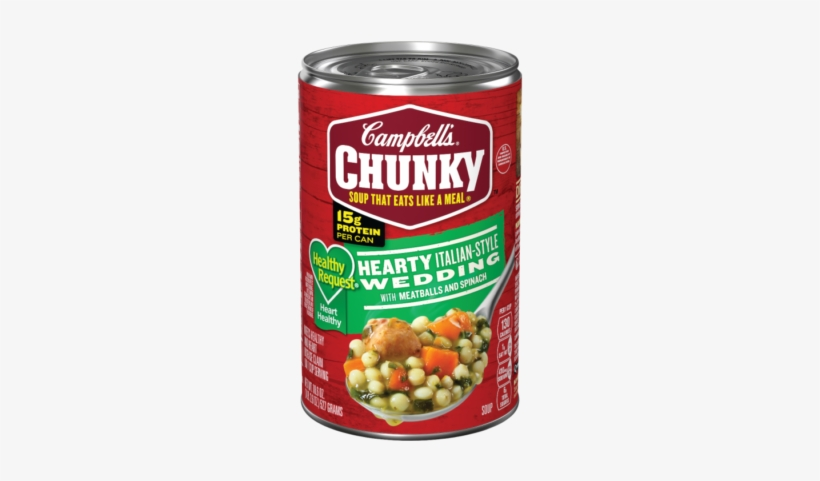 Healthy Request® Hearty Italian-style Wedding With - Campbell's Chunky Vegetable Soup, transparent png #1048157