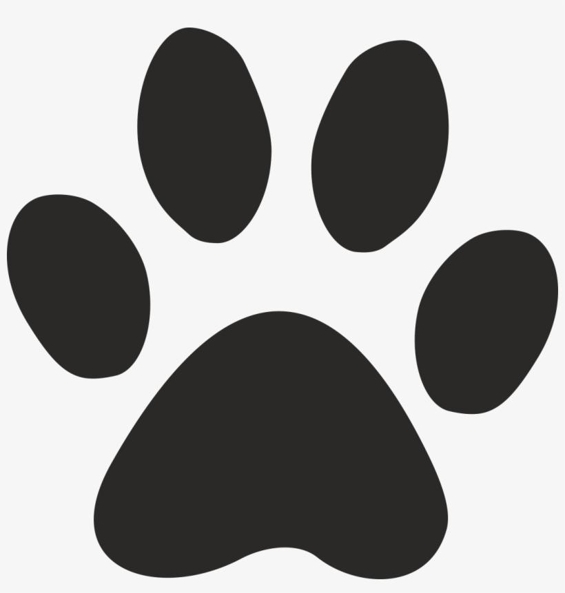 Cat Paw Print Stencil 163908 - Cat Paw Png, transparent png #1048582