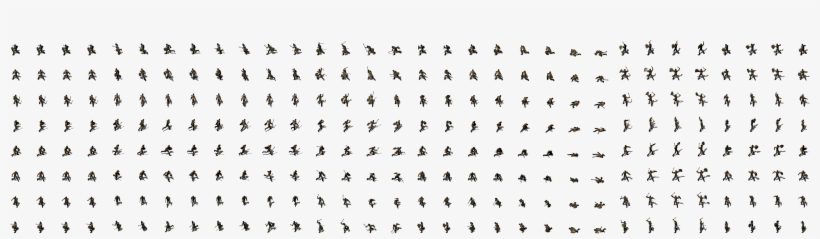 Orc Heavy 1 Open Game Art Sprite Sheet Free Transparent Png