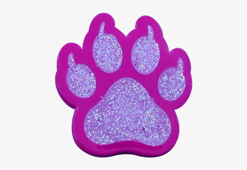 Cat Paw Print Pink Ball Marker & Hat Clip - Readygolf - Cat Paw Print Pink Ball Marker, transparent png #1049208
