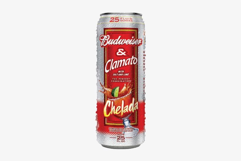 Budweiser Chelada - Bud Light Chelada Lime, 25 Fl Oz, transparent png #1049284