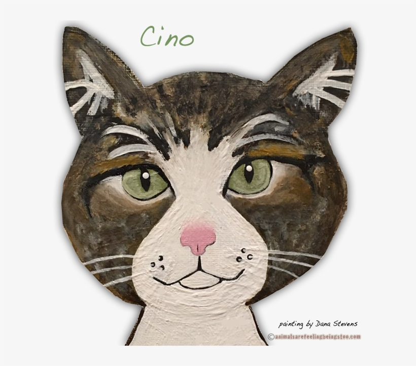 Cino Painting Edited Aafbt - Domestic Short-haired Cat, transparent png #1049508