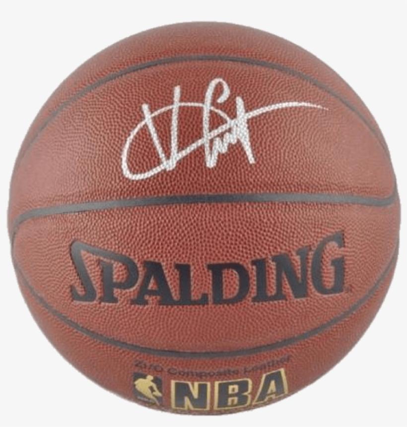 Vince Carter Memphis Grizzlies Nba Authentic Autographed - Signed Frank Kaminsky Basketball - Indoor Outdoor, transparent png #1050363