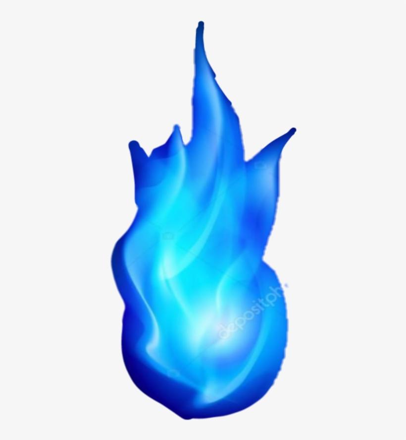 Fire Blue Bluefire Fuego Azul Fuegoazul - Fuego Azul Png, transparent png #1050936