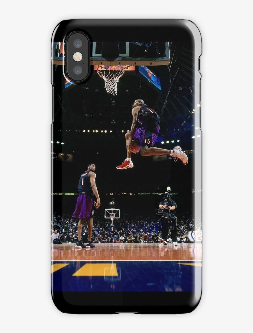 Vince Carter Iphone X Snap Case - Vince Carter Dunk, transparent png #1051193