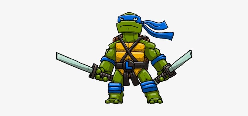 Ninja Turtles Png Leonardo Ninja Turtle Png Free Transparent