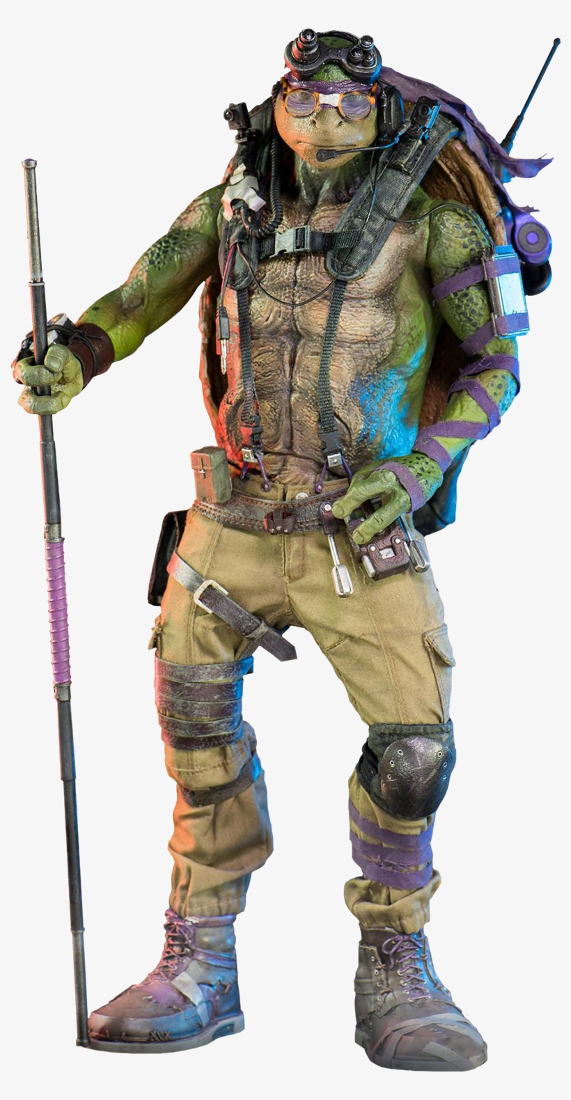 Teenage Mutant Ninja Turtles Teenage Mutant Ninja Turtles 2 Donatello Free Transparent Png Download Pngkey