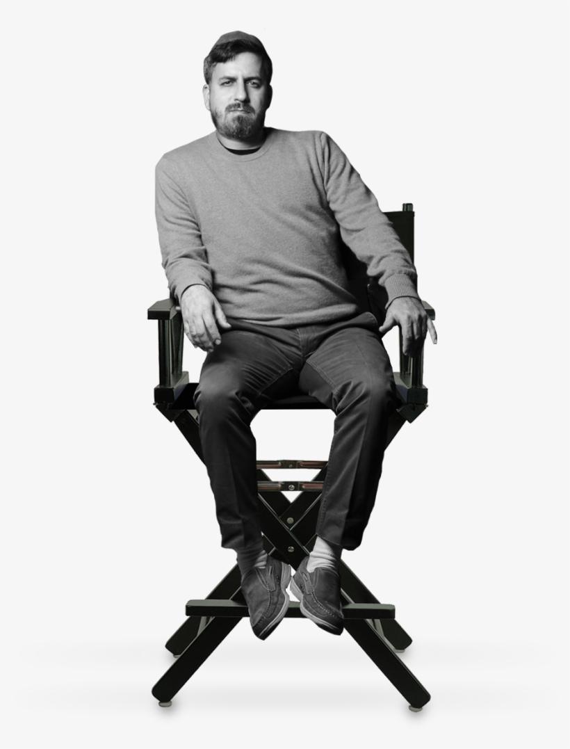 Daniel Finkelmanfounder, Executive Director - Black Frame 24-inch Director's Chair, transparent png #1052261