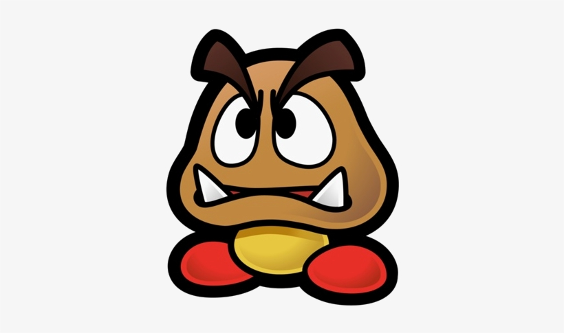 Paper Mario Wiki - Paper Mario Goomba Sprite - Free