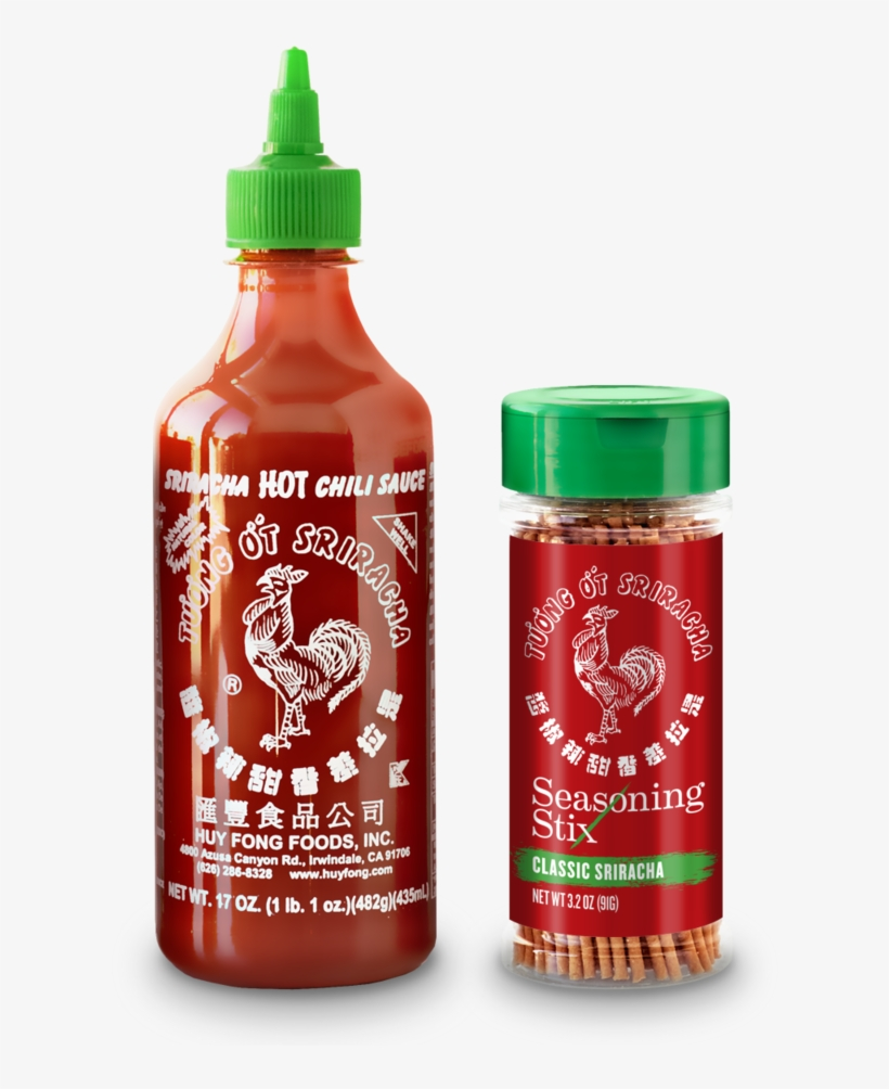 Sriracha Bottle Png - Huy Fong Chili Sauce, Sriracha Hot - 17 Oz Bottle, transparent png #1053685