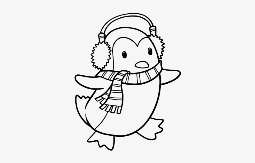 Penguin coloring page - Penguin free printable coloring pages animals | 526x820
